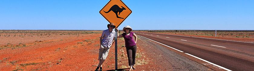 Muistelu automatkasta halki Outbackin