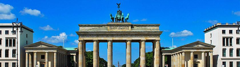 Ikoninen Brandenburger Tor