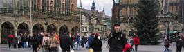 Viikonloppu jouluisessa Bremenissä
