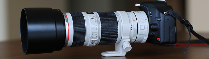 Kameralaitteisto: Canon EF 70-200mm f/4 L IS USM