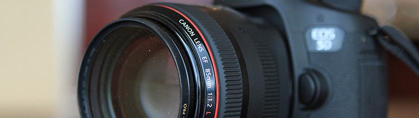 Kameralaitteisto: Canon EF 85mm f/1.2L II USM