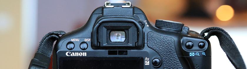 Kameralaitteisto: Canon EOS 500D (Rebel T1i)