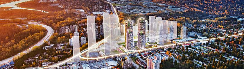 Burnaby rakentaa metropolia