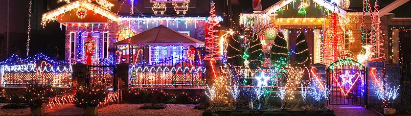 Jouluvaloja kanadalaiseen tyyliin