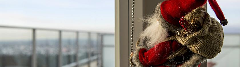 Joulun laittoa Burnabyssä