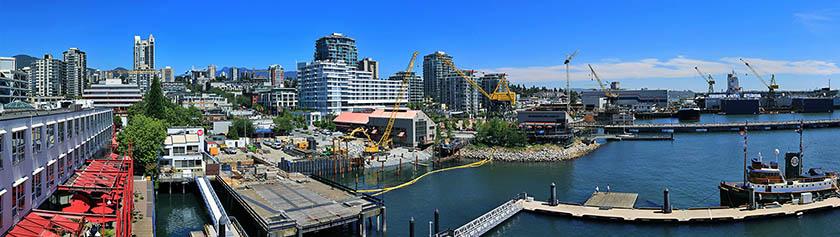 Kesäpäivä North Vancouverissa