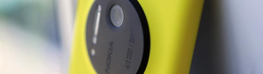 Kameralaitteisto: Nokia Lumia 1020