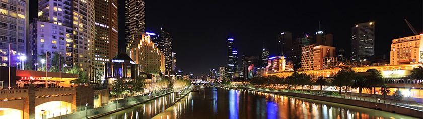 Miljoonakaupunki Melbourne