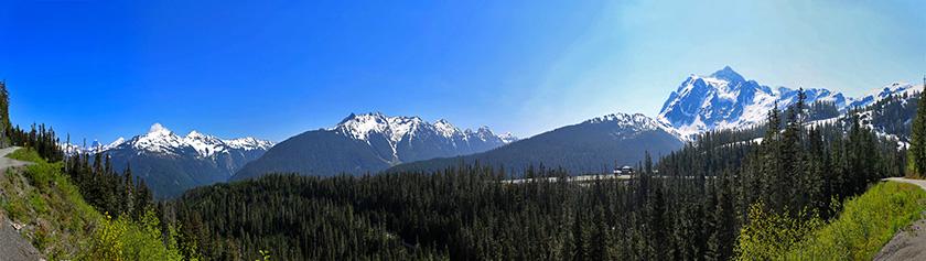 Päiväretki Mount Bakerille