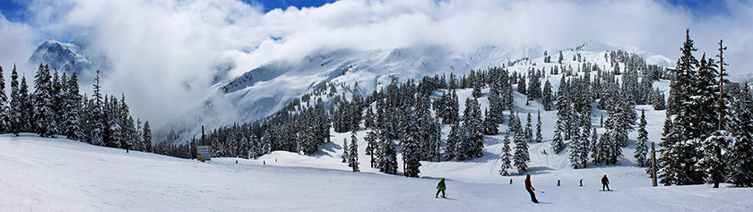 Upean laskettelukauden päätös Mount Bakerilla
