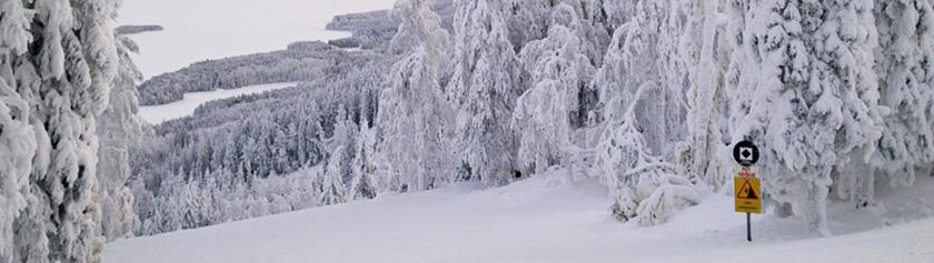 Joululoma pakkasen ja lumen keskellä