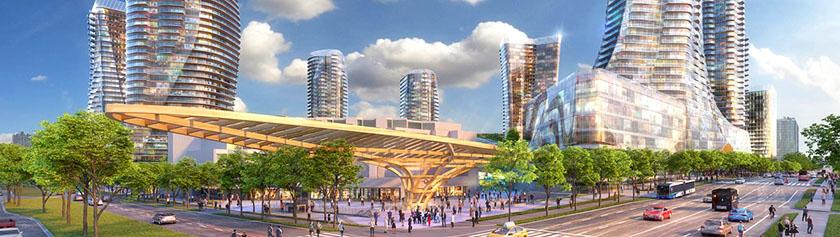 Oakridgeen kasvaa Vancouverin toinen keskusta