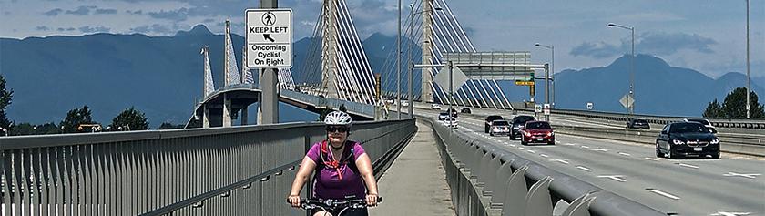 Suuri kolmen sillan pyöräily