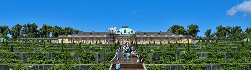 Potsdamin palatseja sekä risteily Spreellä