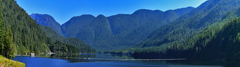 Pyöräretki Seymour Lakelle