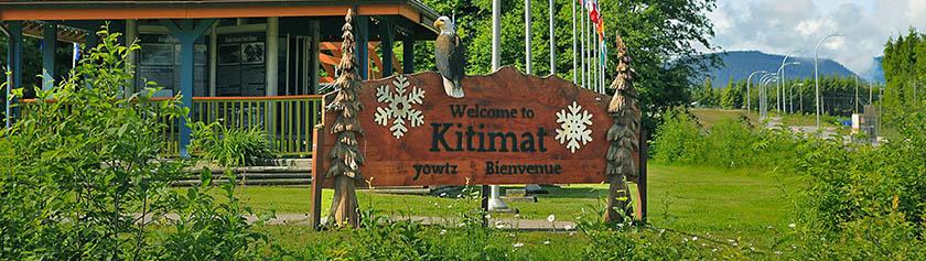 Pohjoisen buumikaupunki Kitimat