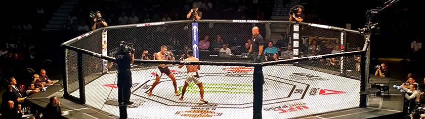 Mätkintää UFC Vancouverissa
