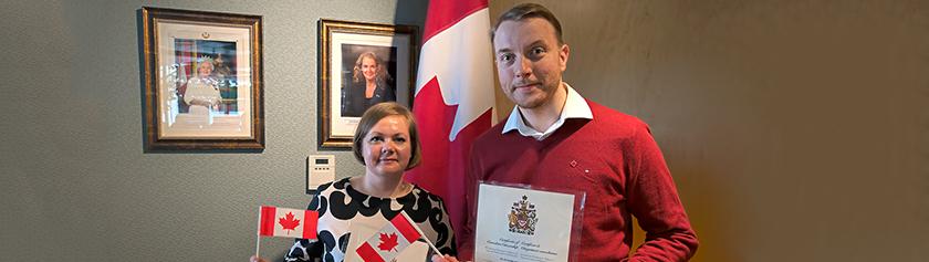 Uunituoreet Kanadan kansalaiset