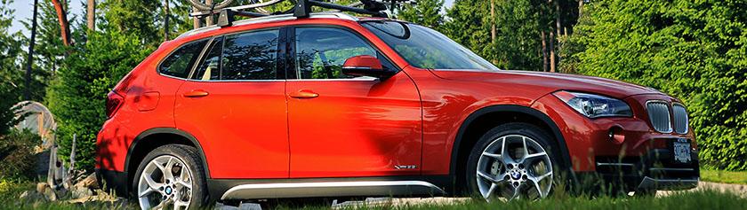Hyvästit oranssille BMW X1:llemme